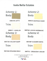 IBE Approved Color Scheme Chart